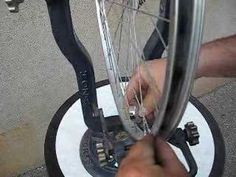 How to align or true #Bicycle wheel  Not the best video quality, but a good explanation.