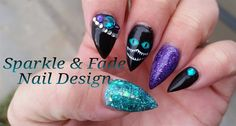 Cheshire Cat Nails by SparkleFade from Nail Art Gallery