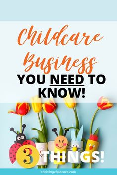 3 Things, Things To Know, Home Childcare, Starting A Daycare, Stop Light, Child Care, Business Website, Baby Care, Business Ideas