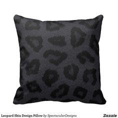 Leopard Skin Design Pillow