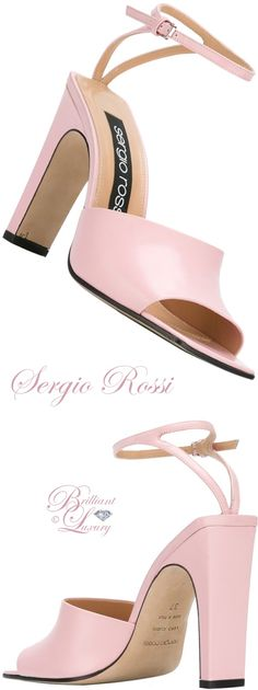 Brilliant Luxury by Emmy DE ♦ Sergio Rossi Ankle Strap Sandals