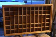 Shot Glass Display Case - Well, this was a fun project. My wife collects shot glasses every time we go somewhere new. This was the first project put on my list. It was a fun build. Hand cut dovetails an dados. Cut the back rabbet and the moulding with an old Stanley 45 that I picked up on ebay. Loved the experience I got... - http://woodworking.99copyshop.com/shot-glass-display-case/