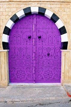 love purple doors