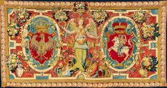 Tapestry with coat of arms of Poland and Lithuania and the figure of Victory by…