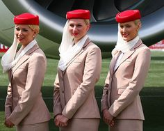 emirates cabin crew makeup - Google Search Emirates Flights, Emirates Airline, Airline Flights, Emirates Cabin Crew, Flight Attendant, Aviation, Glamour, Train, Style Inspiration