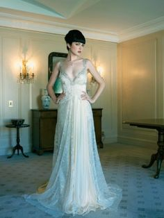 From Pallas in Sydney - beautiful wedding dress. Photo Peter Collie for Sydney Bride Magazine