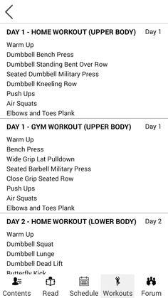 Emily Skye's Daily Workouts se skermkiekie
