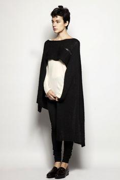 knit wrap or cape?