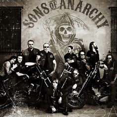 Took me a while to start this show, but when I did I was locked onto #SonsofAnarchy for six seasons. What happened to number 7? Well anyone that watched it knows that the end of six left us all kind of torn up. Will get to that last season someday ^_^. #TV #series