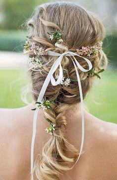 cheveux mariée