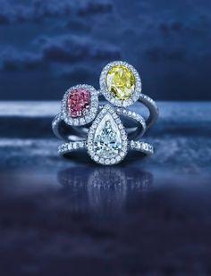 DE BEERS DIAMOND RINGS