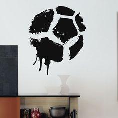 Soccer Ball Vinyl Wall Art Decal Sticker