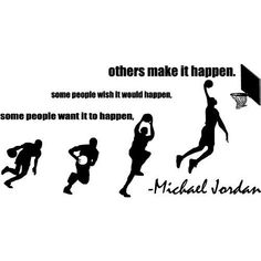 Some People Want It All Basketball Vinyl Wall Art ($19.99)