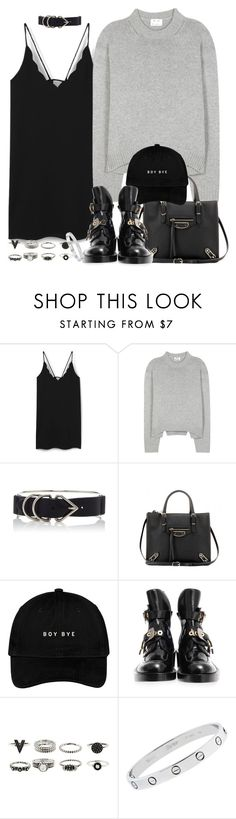"""""""Sin título #4017"""" by hellomissapple ❤ liked on Polyvore featuring MANGO, Acne Studios, Alexander Wang, Balenciaga and Cartier"""
