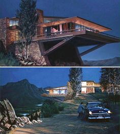 Vandamm House, which was practically a main character in Alfred Hitchcock's unforgettable 'North by Northwest'