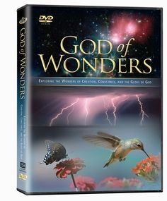 GOD OF WONDERS DVD - God's Wonders Surround Us.Through Creation We Glimpse His Power and Wisdom, His Majesty and Care.Creation is Speaking to Those Who Will Lis