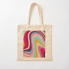 Sacs Tote Bags, Diy Tote Bag, Tote Bags Handmade, Cute Tote Bags, Cotton Tote Bags, Canvas Tote Bags, Reusable Tote Bags, Painted Canvas Bags, Tods Bag