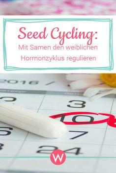 Sicher kennst du auch PMS, Schlafstörungen und unregelmäßige Zyklen. Wir haben nun die Lösung: Seed Cycling. Hier erfährst du mehr #hormones #zyklus #frauen