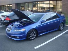 Acura TL Type S Acura TL Type S Blue – Top Car Magazine