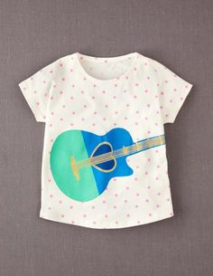 I've spotted this @BodenClothing Parade T-shirt Papaya Whip Guitar