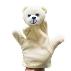 Children's puppet finger Doll Zoo Farm Glove Plush Toy