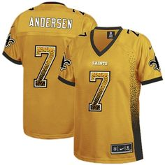 Nike Limited Bobby Hebert Gold Women s Jersey - New Orleans Saints NFL  Drift Fashion 49fcb1e26