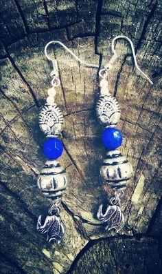 Dangle Drop Earrings Handmade Beaded  3 by JewelsofMyWonderland