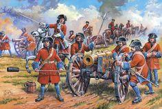 Русская артиллерия Петра I