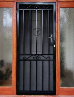 As Melbourne's most trusted name in home protection, MSD Melbourne has the widest range of steel security doors available at affordable prices. Door Grill, Window Grill Design, Steel Security Doors, Security Screen, Village House Design, Iron Windows, Wrought Iron Doors, Front Door Entrance, Container House Design