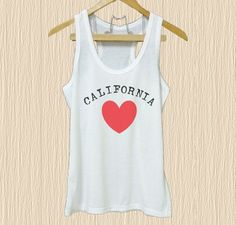 Love California shirt State Quote XS S M L XL white tank top& Grey tee& dress California Shirt, Nerd Outfits, Cute Graphic Tees, Funny Tank Tops, Tee Dress, Grey Shirt, Shirts With Sayings, White Tank, Racerback Tank Top