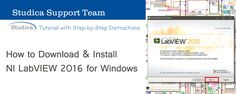 How to Download and Install LabVIEW 2016 for Windows