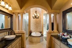 Ranchland Hills Custom Home with Panoramic Views mediterranean bathroom