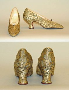 [British] Silk Evening Shoes (1910–1915)