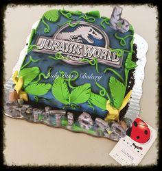Jurassic world cake - Birthday Cake Fruit Ideen Dinosaur Birthday Cakes, Cupcake Birthday Cake, Dinosaur Cake, Dinosaur Party, Cupcake Party, Party Cakes, Birthday Party At Park, Leo Birthday, Fourth Birthday