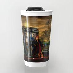 10th Doctor who Lost in the pirates age TRAVEL MUG #Travelmug #mug #painting #digital #watercolor #ink #vintage #comic #illustration #davidtennant #10thdoctor #tardisdoctorwho #doctorwho #tardis #starrynight #piratesofthecarribean #jhonnydepp #timevortexl