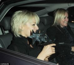 Delighted: Sheridan was clearly overjoyed at receiving her honor in central London. Sheridan Smith, Leaf Tv, Tousled Hair, Choice Awards, Best Actress, Lbd, Actresses, London, Female Actresses