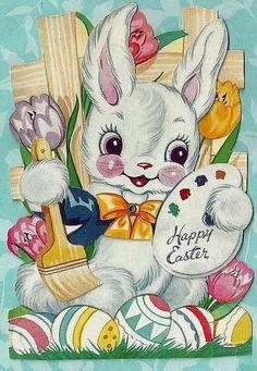 postcard.quenalbertini: Vintage Easter Card   Zazzle