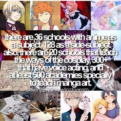 Anime facts that's why I want to live in Japan