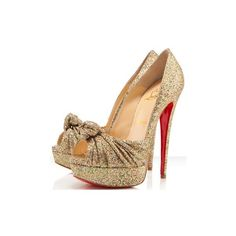 Christian Louboutin ❤ liked on Polyvore featuring shoes, heels, louboutin, sapatos, christian louboutin and christian louboutin shoes