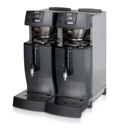 Bravilor RLX 55  Buffet machine with integrated hot water section and connection for mains water supply 3/4 inch. Direct brewing into fixed containers. Fitted with coffee-ready signal and descaling indicator.   http://www.love-espresso.co.uk