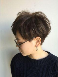 クブヘアー(kubu hair)《Kubuhair》頭の形が綺麗に見えるコンパクトショート