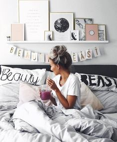 New room - neues zimmer - Bedroom Ideas My New Room, My Room, Dorm Room, Bedroom Inspo, Bedroom Decor, Bedroom Ideas, Bedroom Furniture, Cozy Bedroom, Black Furniture