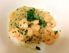 Healthy and Homemade: Low Carb Shrimp Scampi w/ Miracle Noodles