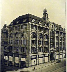 Aufnahmen vom Warenhaus Tietz in der Königstraße