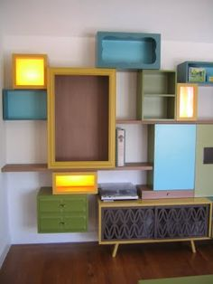 I L-O-V-E taking individual pieces and putting them together like this - a fancy and fun storage system without the fancy price tag I bet