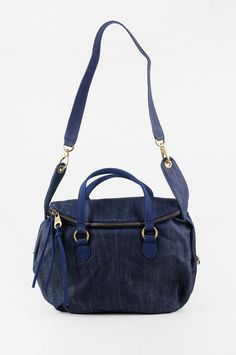 Cute denim duffle by Mat & Nat