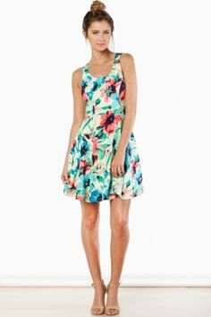 Day In Paradise Dress in Floral