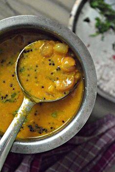 Südindische Perle Zwiebel Sambhar%