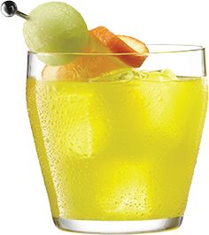 Fuzzy Melon Ball is an easy to make cocktail using MIDORI. Alcohol Infused Fruit, Mixed Drinks Alcohol, Alcohol Popsicles, Midori Cocktails, Easy To Make Cocktails, Midori Melon, Pinnacle Vodka, Melon Liqueur, Schnapps