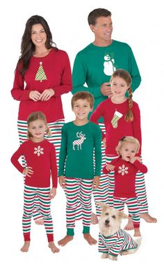 Holiday Stripe Matching Family Pajamas Main Image Family Pajama Sets f734fb380